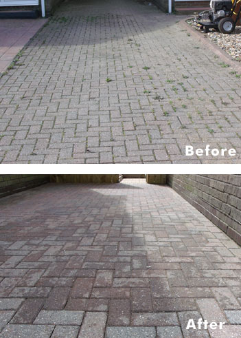 Driveway and Patio Cleaning in the North East
